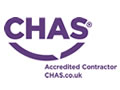 Accredited Contractor logo - Uprise is a member of CHAS